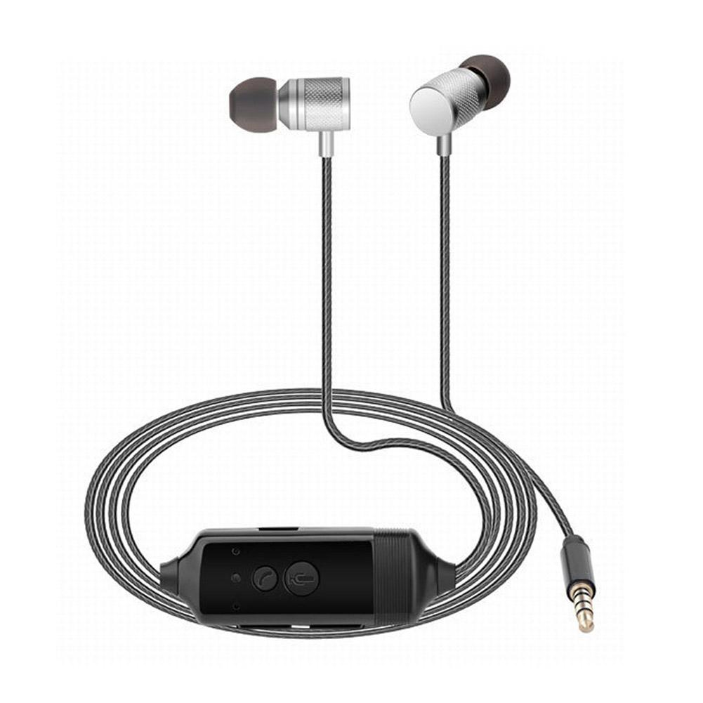 EastVita Recordable Headphone In-ear Earphone Mobile Call Recorder Earbud for iPhone Android Phone