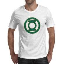 Super Hero Lantern Symbol T Shirt Print Novelty Design T-shirt Rock Punk Anime Unisex Tee