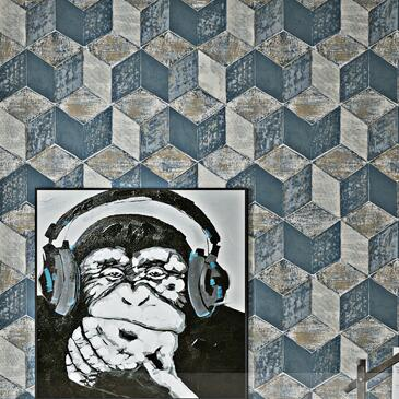 3D Stereoscopic Geometric Wallpaper Vinyl Stone Wall Paper Roll Brick Lattice For Wall Bedroom Living Room Home Decor purple grey modern 3d wallpaper for living room bedroom background walls gray vinyl faux 3d stereoscopic wall paper roll decor