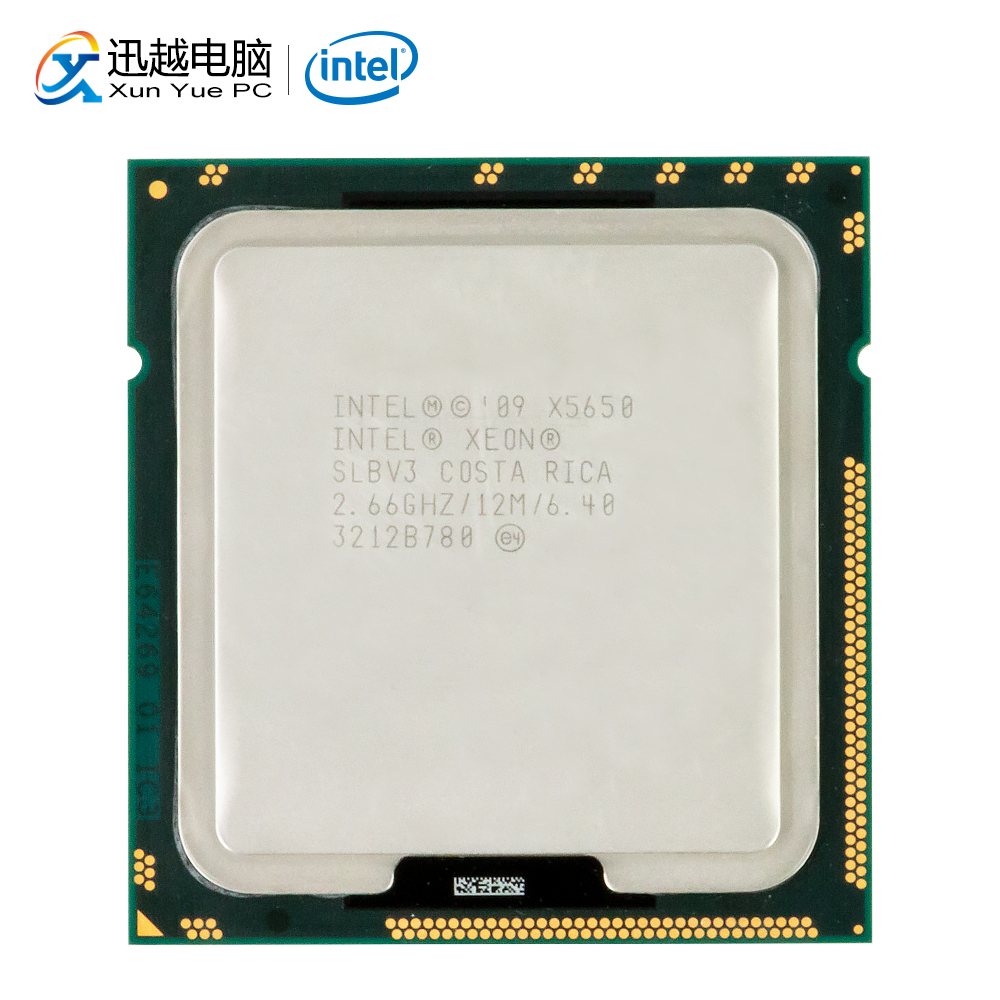 Intel Xeon X5650 Desktop Processor Six-Core 2.66GHz SLBV3 L3 Cache 12MB LGA 1366 5650 Server Used CPU