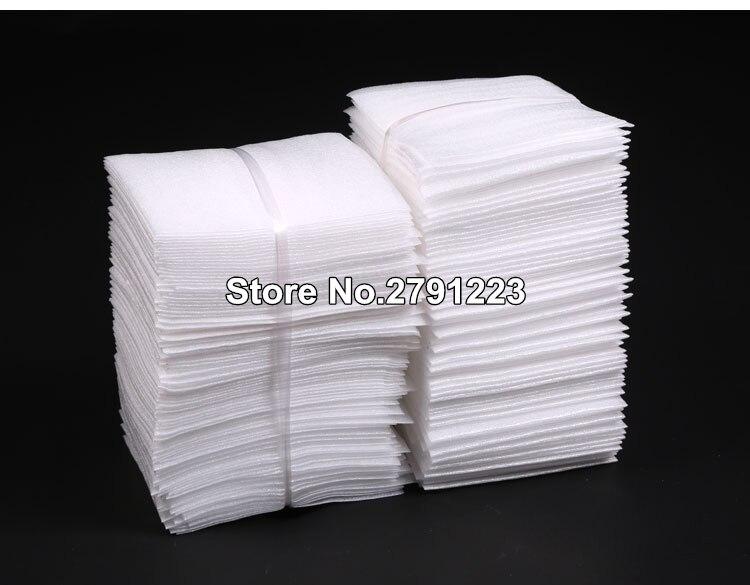 Verschiedene größen Weiß PEP Verpackungsbeutel/Perlenbaumwolle Gepolsterte Schiff Taschen/Stoßfest Verpackung Material Polyethylen Geschäumte Taschen