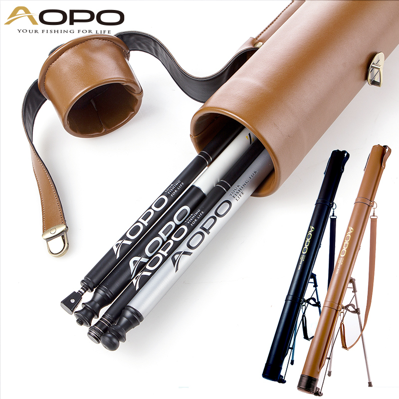 1.2 m fishing gear package fishing rod package fishing gear package Cheap road sub rod bag pu leather
