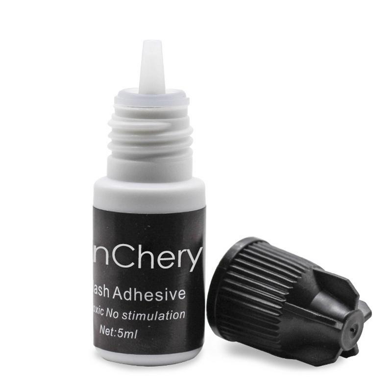 Fast Drying Eyelash Glue Waterproof False Lashes Extension Adhesive Black  Strong Sticky No Odor No Irritation Lasting Makeup W3