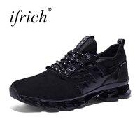 Men Running Shoes Sport Sneakers Comfortable Male Mesh Walking Sneakers Black Green Runners Mens Footwear Cheap