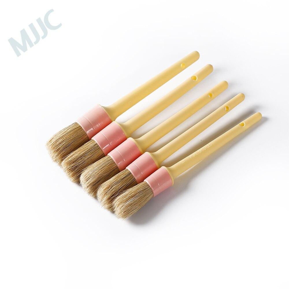 MJJC 5 lápiz de la PC cepillo para detalles Kit Mameluco de sudadera con detalle de botón de bebé ebebek BabyZ