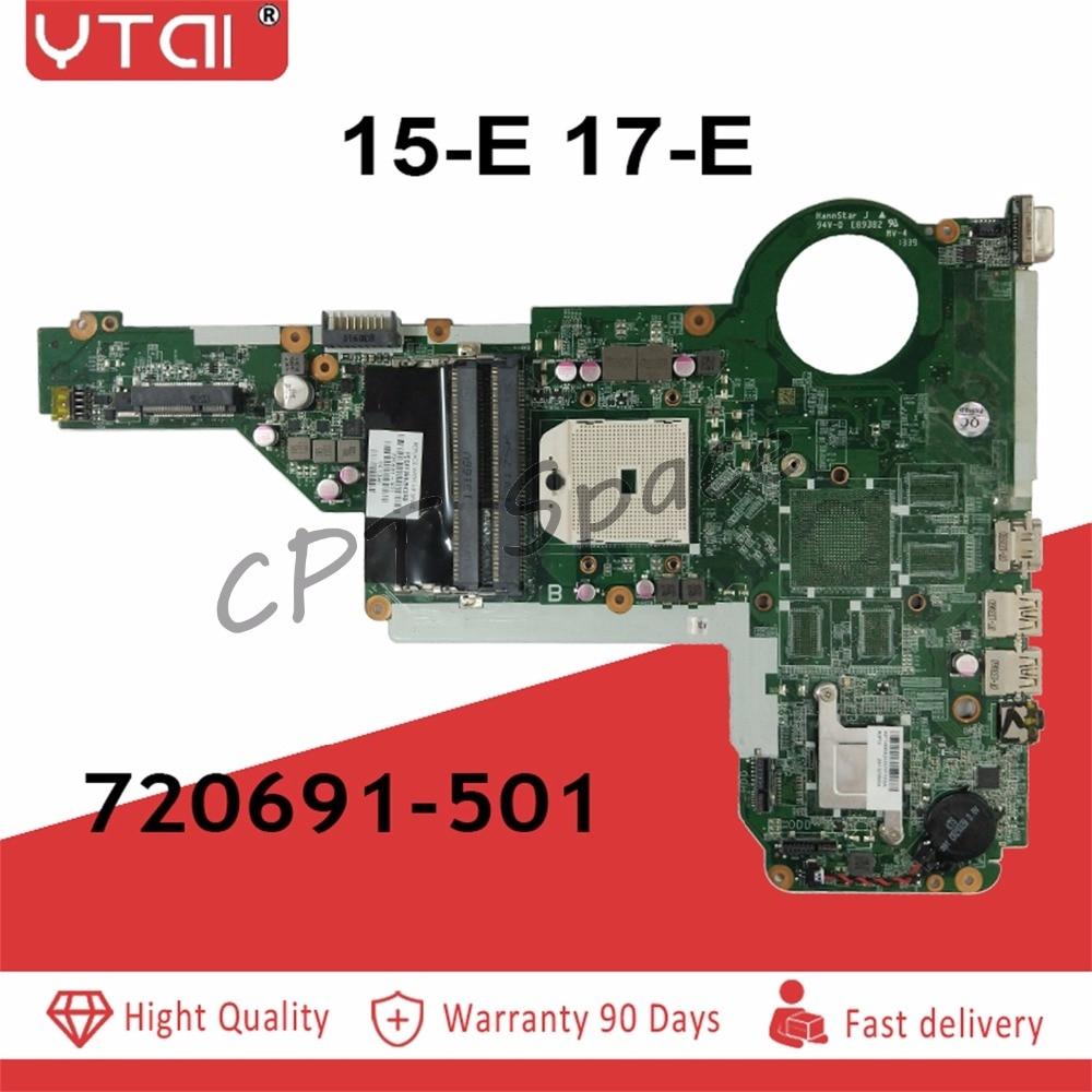 720691 501 15 E 17 E Motherboard For HP Pavilion 15 17 15 E 17 E laptop Motherboard 720691 001 DA0R75MB6C1 100% tested intact