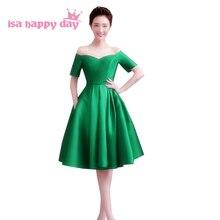 sexy elegant fancy short sleeve woman off shoulder green eveing party  dresses women 2018 evening dress f53c8a9b0556