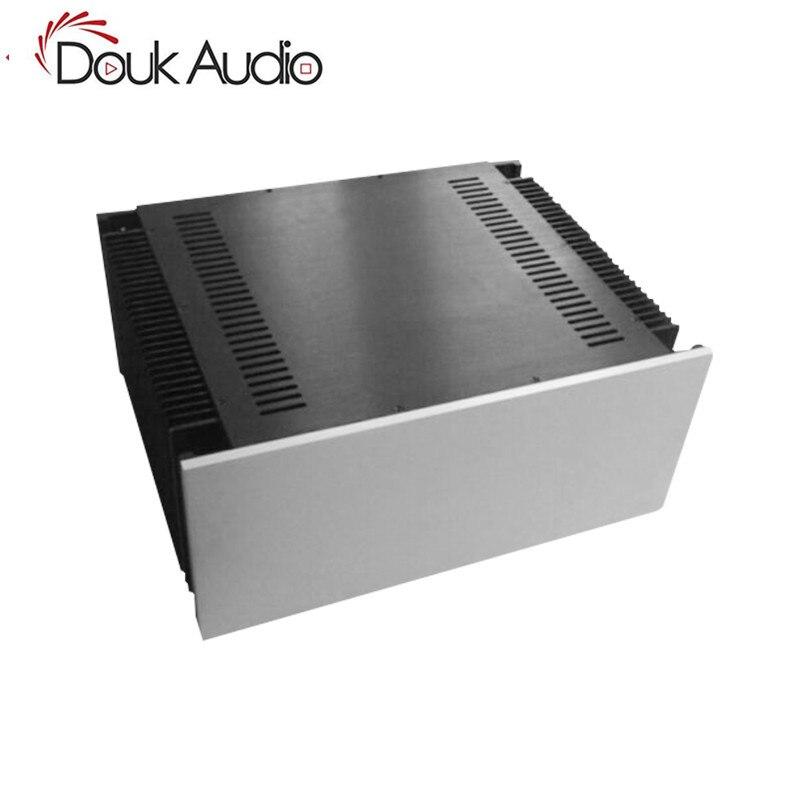 Douk Audio châssis en aluminium de grande taille classe A amplificateur de puissance boîtier armoire de bricolage