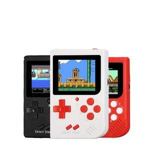 Image 1 - Video Spiel Konsole 8 Bit Retro Mini Tasche Handheld Spiel Player Eingebaute 188 Klassische Spiele für Kind Nostalgischen Player