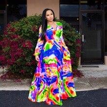 Vintacy dress long sleeve green tropical beach vintage boho dress,Maxi Casual V-neck Belt Chiffon Women Drapier Spring New Dress
