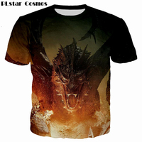 PLstar Cosmos Jon Snow Game Of Thrones Printed 3D Men T Shirt Casual Men Tshirt Tops
