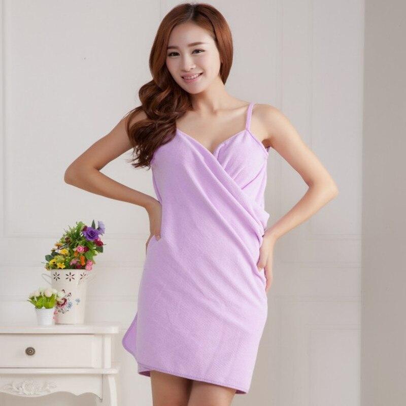 Bath Towels Fashion Lady Girls Wearable Fast Drying Magic Bath Towel Beach Spa Bathrobes Bath Skirt A15
