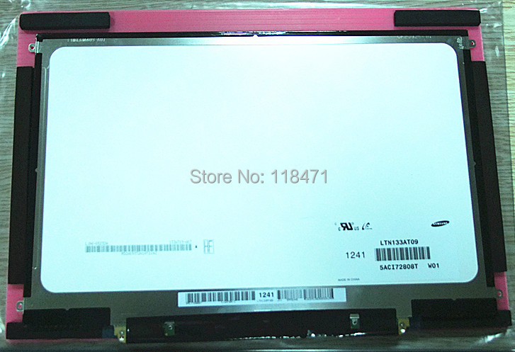 13.3 Inch TFT LCD Panel LTN133AT09-W01 LCD Display 1600*900 LCD Screen IPS LCD  LVDS 2 Ch 6-bit 300 Cd/m2