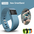 Banda do bluetooth inteligente pulseira tw64 rastreador de fitness pedômetro esporte smartband para ios android pk cicret bracelet xiaomi meizu
