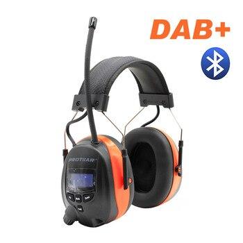 Protear DAB +/DAB/FM радио Слуха Протектор 25dB литиевых батарея наушники для женщин электронный Bluetooth защиты наушников