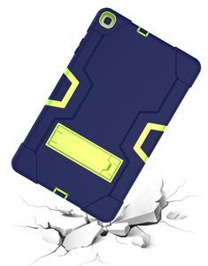 Image 2 - Dành Cho Samsung Galaxy Tab A 10.1 2019 Bao T510 T515 SM T510 SM T515 Chống Sốc Silicon Đứng Coque Funda + Dán Màn Hình tấm Bảo Vệ
