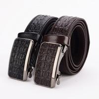 2018 manufacturers wholesale spot new products men's belts Korean fashion automatic buckle belts