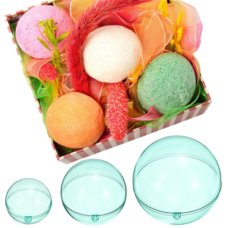 Reasonable 1pc Bathroom Accessories Cake Moulds Baking Pastry Chocolate Plastic Sphere Bath Bomb Water Ball Round Kitchen Bath & Shower