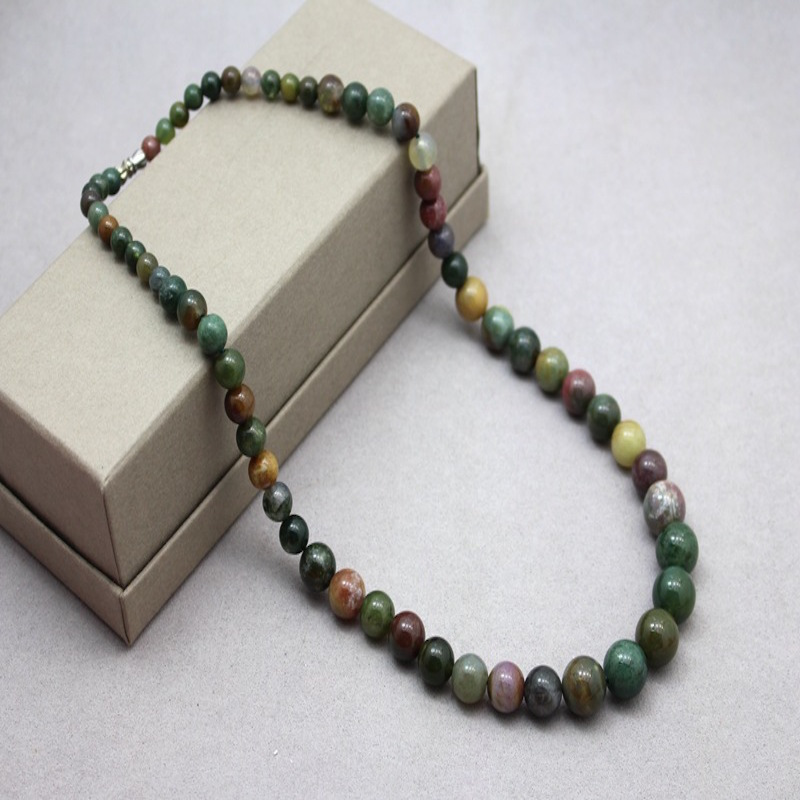2016 Accessories 6 8 10 12 India Onyx Beaded Necklace Design Long ...