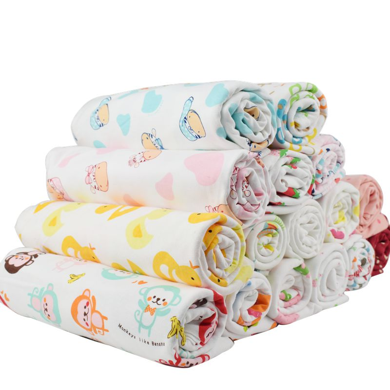 7d075f67d53 New arrival 50*180cm stretchy printing cartoon baby cotton knitted jersey  fabric by half meter