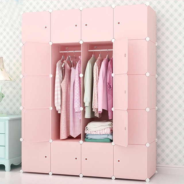Bedroom Furniture Wardrobe Home Storage Cabinet Wardrobe Waterproof ...