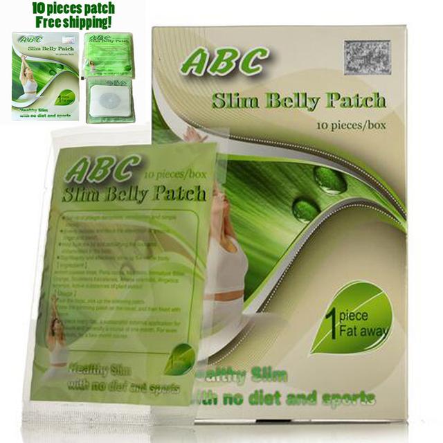 (5 Sacos de Alimentação) ABC slimming barriga patch dieta magnética pad perder peso queimar gordura rápido 100% eficaz frete grátis (MLD00500)