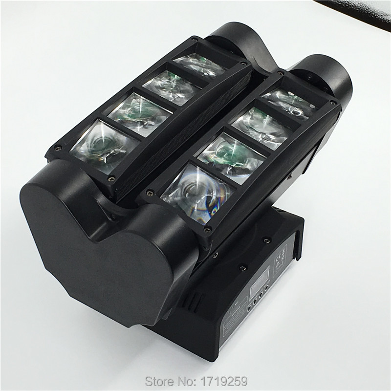 4 pieces Fast Shipping MINI 8x10W 4IN1 RGBW MINI Led Spider Moving Head Beam Light DMX LED Spider Light Spider LED Moving Head 4 pieces fast shipping mini 8x10w 4in1 rgbw mini led spider moving head beam light dmx led spider light spider led moving head