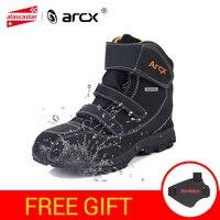 ARCX/непромокаемые мотоботы, Мужская обувь в байкерском стиле из натуральной коровьей замши, Байкерская обувь, мотоботы