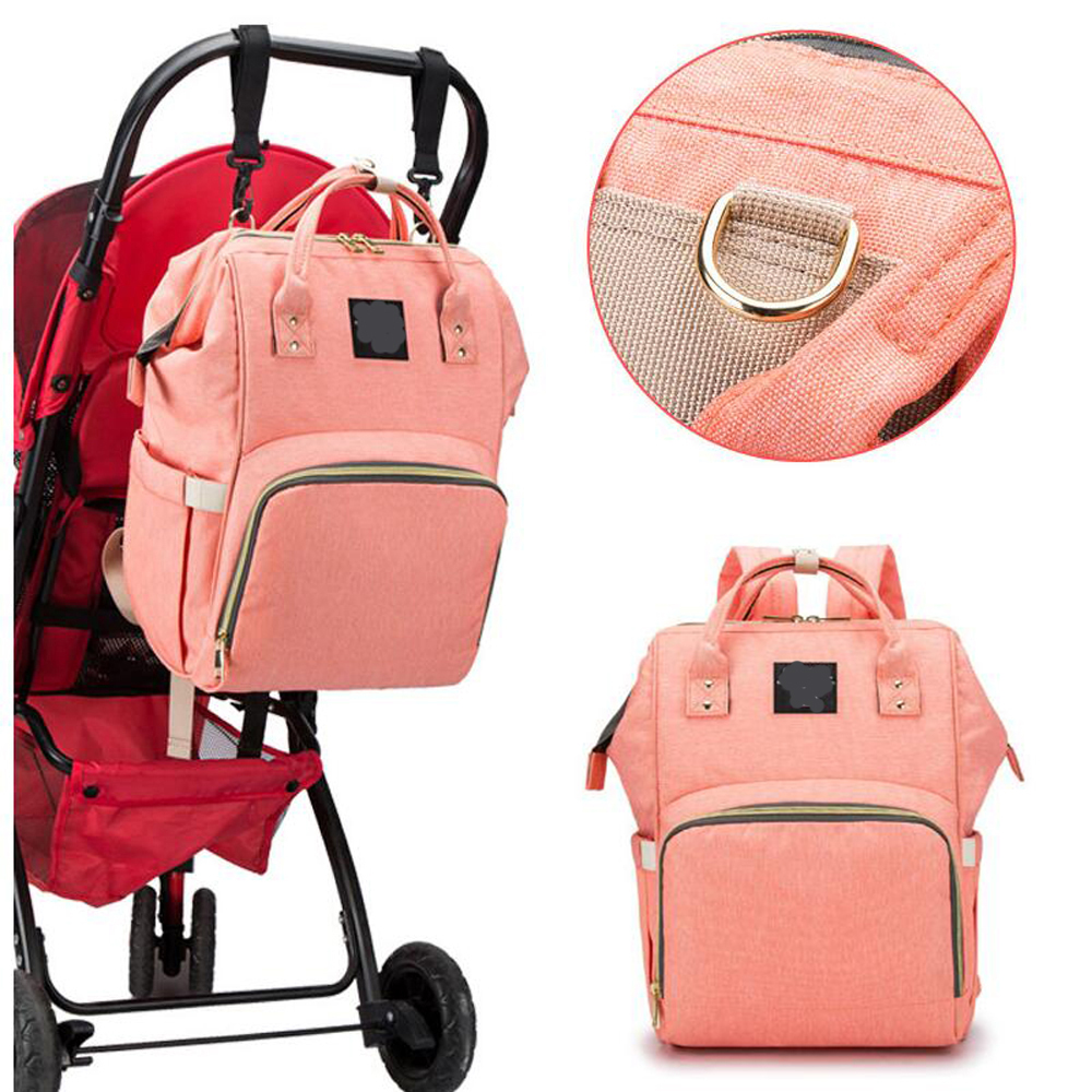 все цены на New Diaper Bag Maternity Travel Backpack Baby Wheelchair Stroller Bag Nappy Changing Mommy Bag for Baby Care Backpack for Moms онлайн