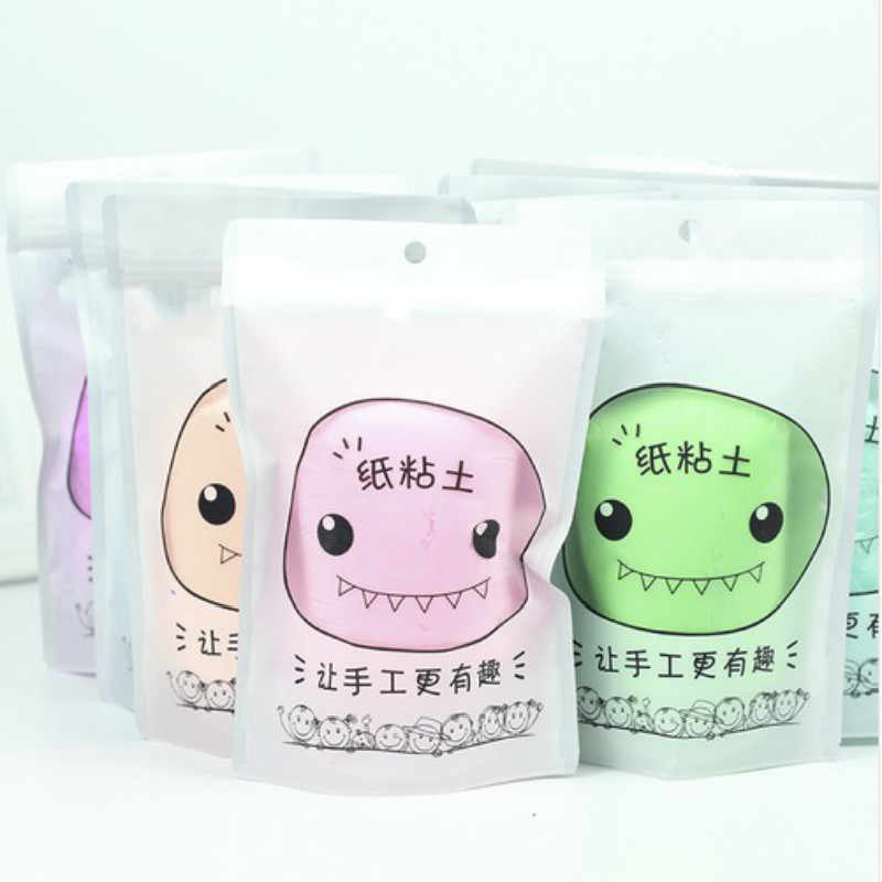 NEW Monster Paper Clay Enough Large Volume 100 Grams Paper Clay Soft Paper Clay Plasticine Drawing Slime Polymer Children's Toy