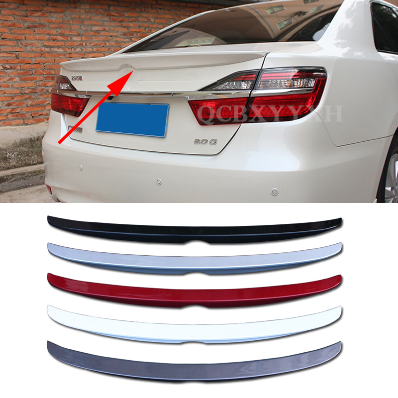 цены Car Styling ABS Material Roof Spoiler Without The Paint Auto Decoration External Decoration For Toyota Camry 2012-2015