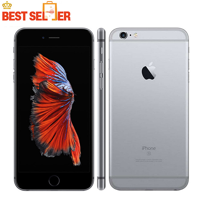 Apple iPhone 6S Original 4G 16GB 2gb Dual Core Fingerprint Recognition 8mp Used Ios A9 title=