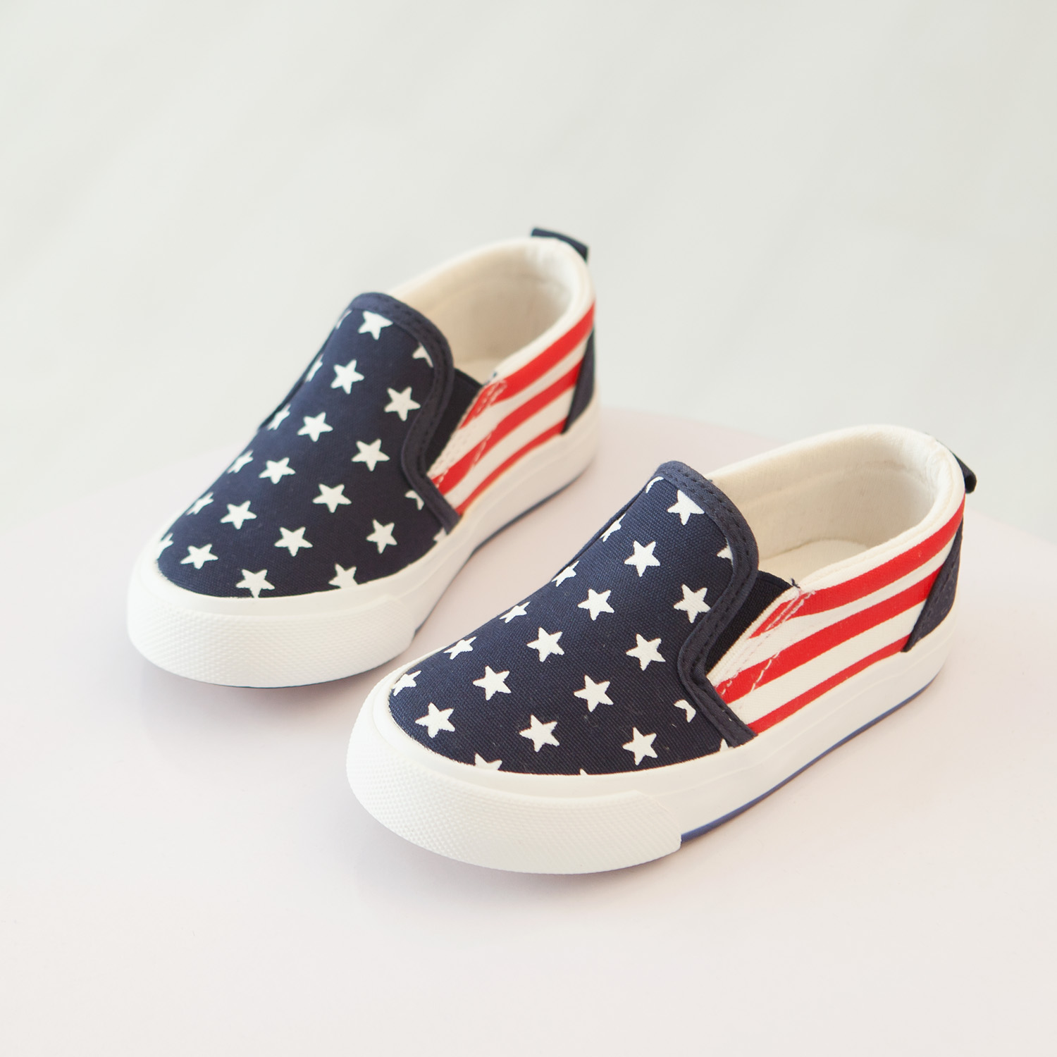 b87d73df7ad Kids shoes boys girls shoes breathable star pattern kids canvas shoes girls  fashion striped girls loafers kids-in Sneakers from Mother   Kids on ...