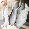 Женские из натуральной кожи квартиры обувь на шнуровке воск кожа женщина баллок обувь леди квартиры оксфорд обувь для женщин повседневная обувь белый