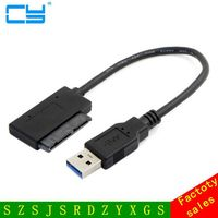 10cm USB 3 0 To Micro SATA 7 9 16 Pin 1 8 90 Degree Angled