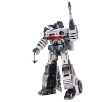 2018 news MU 3D Metal Puzzle TF G1 JAZZ Model Weapon exchange DIY 3D Laser Cut Assemble Jigsaw Toys For Audit and kids gift