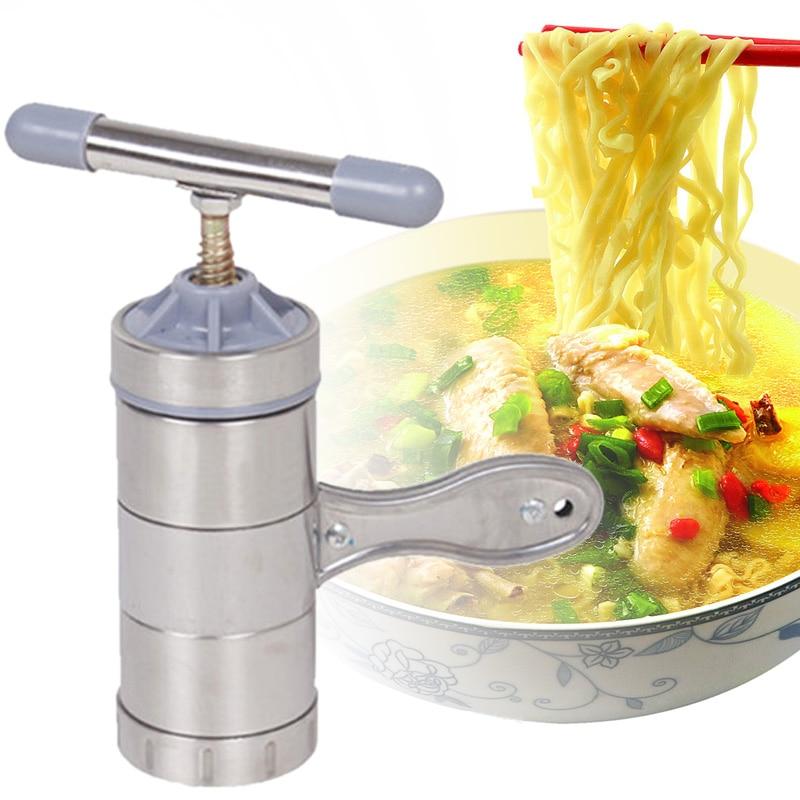 Hot Sale Stainless Steel Pasta Noodle Maker Pasta Machine Manual Fruit Juicer...