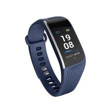 S4 Smart Wristband Waterproof Sport Bracelet Bluetooth Pink Black Blue Strap Watch Fitness Tracker Color Screen Information Push