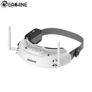 Eachine EV200D 1280*720 5.8G 72CH Истинное Разнообразие FPV Очки HD Порт В 2D/3D Встроенный DVR