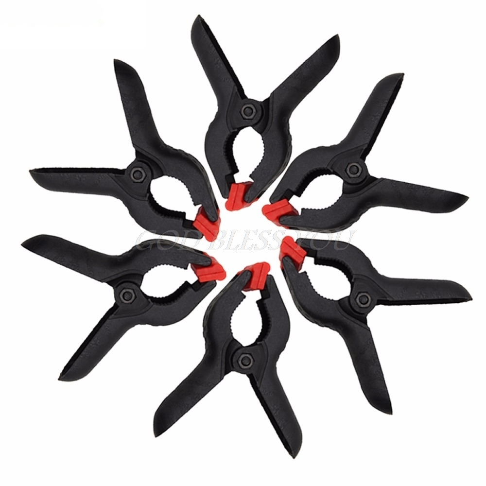 6Pcs Background Clips Background Stand Clamps For Photo Studio Light Photography