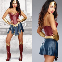 Wonder Woman Cosplay Costumes Adult Justice League Super Hero Costume Superwoman Outfit Role Playing Diana Prince Fancy Dress 49