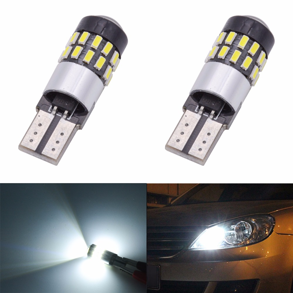 10X T10 501 194 168 W5W 5SMD LED ERROR FREE CANBUS Car Side Light Bulb