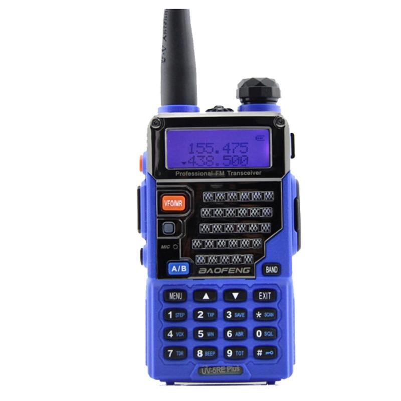 bilder für Original BAOFENG UV-5RE/UV-5RE Plus Dual-band-funkgeräte Walkie Talkie 5 Watt Power 128 Kanäle UHF/VHF Dual Display/Dual-Standby