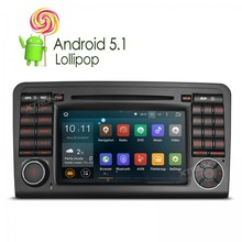 7 inch Android 5.1 car DVD Player  GPS Navigation  For Mercedes-Benz ML – W164 / W300 / ML350 / ML450 / ML500 (2005-2012)