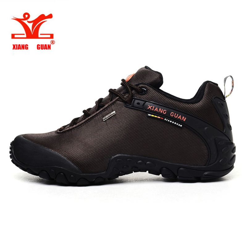 XIANGGUAN 2016 man Outdoor Shoes Windproof Sport Shoes Autumn/Winter male Hiking Trekking Boots Hunter Boots For men 39-48 yin qi shi man winter outdoor shoes hiking camping trip high top hiking boots cow leather durable female plush warm outdoor boot