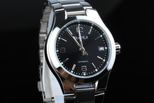 Declaración elegante Mujeres de Negocios de Moda Relojes Mecánico Auto Viento Calendario Vestido Reloj Analógico Relojes de Acero Completa NW3160