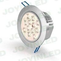 100pcs high quality 3W/5W/7W/9W/12W/15W/18W Led Ceiling Downlight Epistar LED Ceiling Lamp Recessed Spot light Free shipping