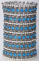 Multicamadas trecho bracelete de cristal mulheres casamento nupcial moda jóias B11 6 row dropsjipping atacado