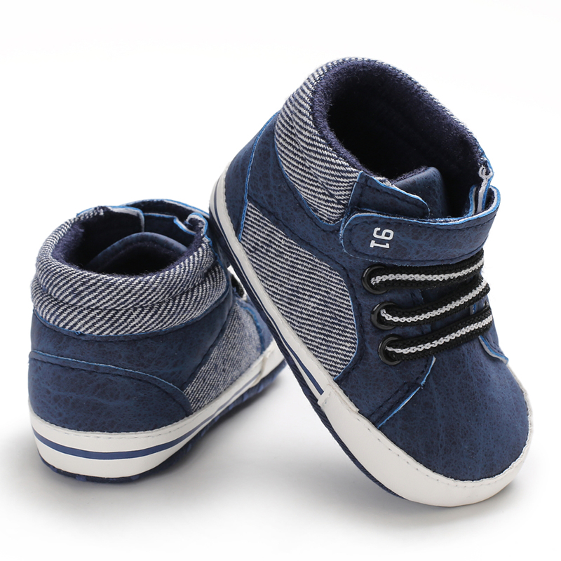 Summer Baby Shoes For Newborn Boys Infant Soft Sole Crib Shoes Toddler Boy Girl Canvas Sneakers Anti-Slip Booties
