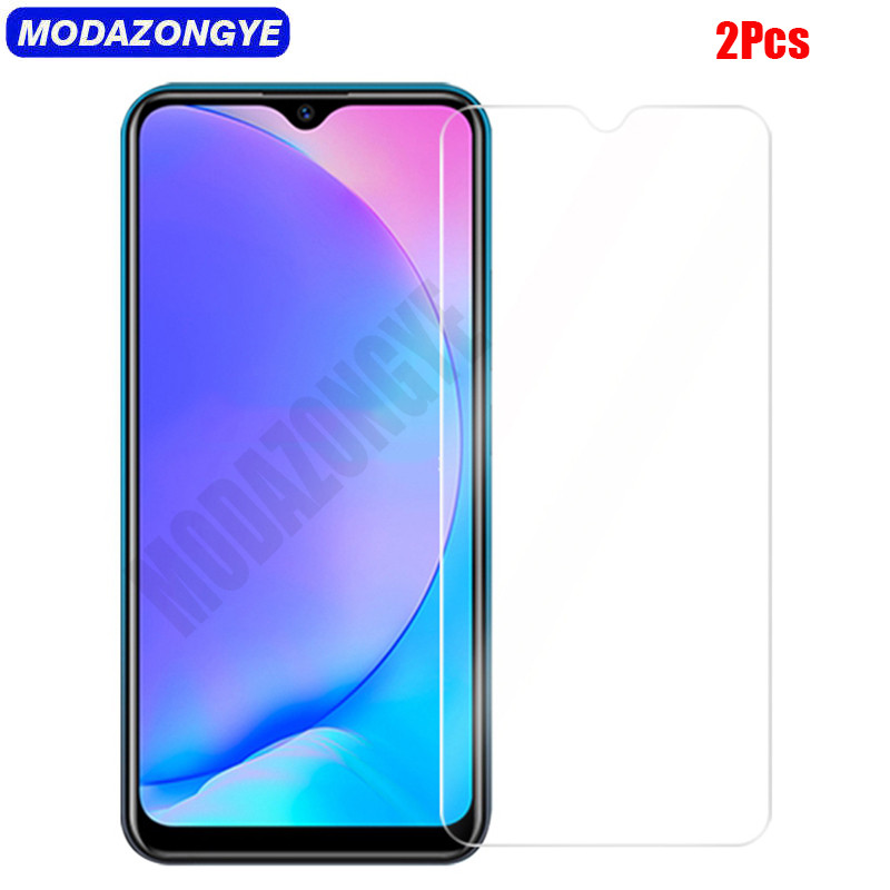 2Pcs Tempered Glass Vivo Y17 Screen Protector Vivo Y17 Y 17 VivoY17 Vivo 1902 Tempered Glass Vivo Y17 2019 Protective Film 6.35
